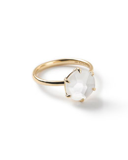 18k Rock Candy Mother-of-Pearl Ring