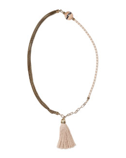 Natu Long Tassel Necklace