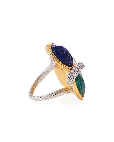 Multi-Stone Vine Ring