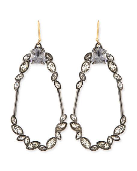 Miss Havisham Marquise Cluster Earrings