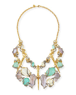 Elements Rocky Vine Bib Necklace