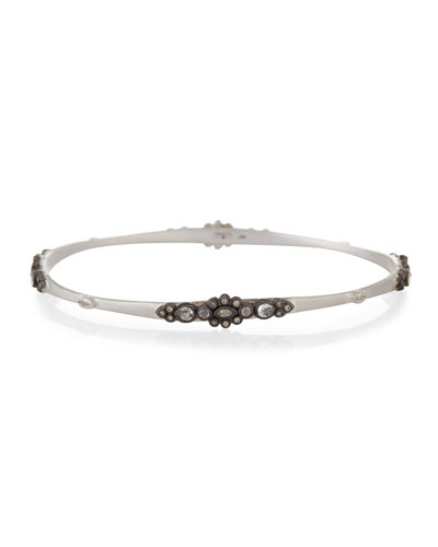 New World Lacy Champagne Diamond Bangle