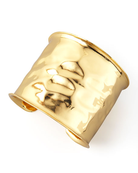 Gold Geometric Cuff