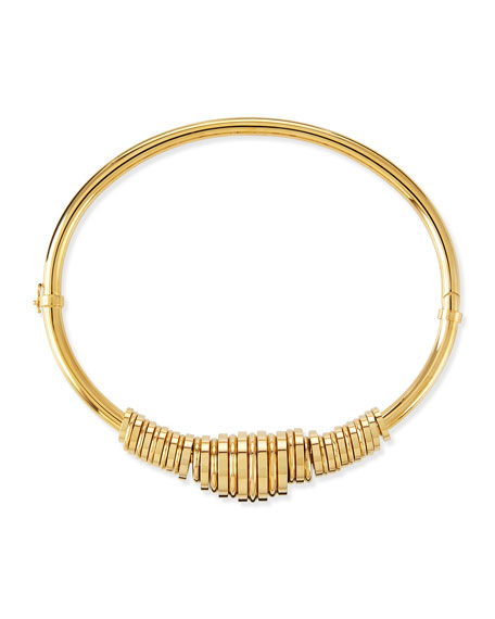 Chloe Freja Brass Collar Necklace