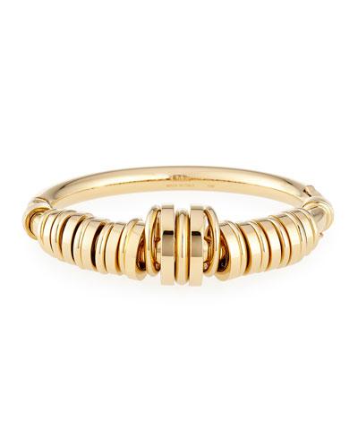 Freja Brass Ring Bracelet
