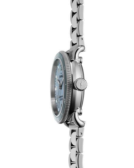 34mm Runwell Sport Stainless Steel Watch, Blue
