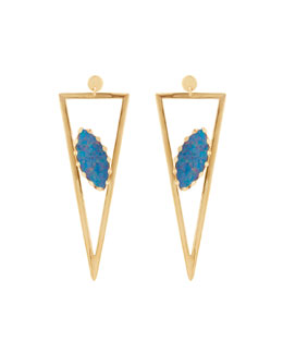 Monte Carlo 14k Opal Earrings