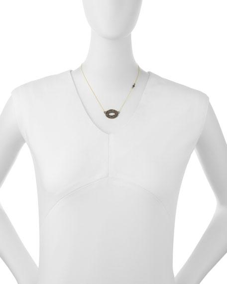 Open Center Oval Pendant Necklace