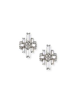 Talia Crystal Stud Earrings