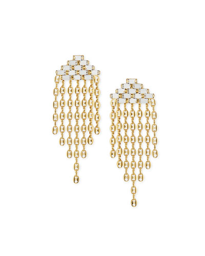 Gianna Gold-Plated Crystal Earrings
