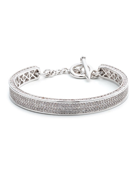 Small Zenith Pave Crystal Cuff Bracelet