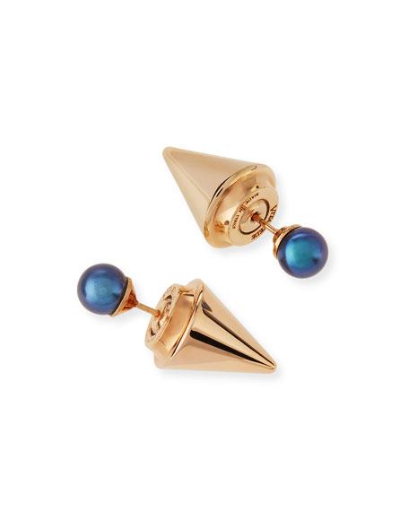 Double Titan Pearl Earrings