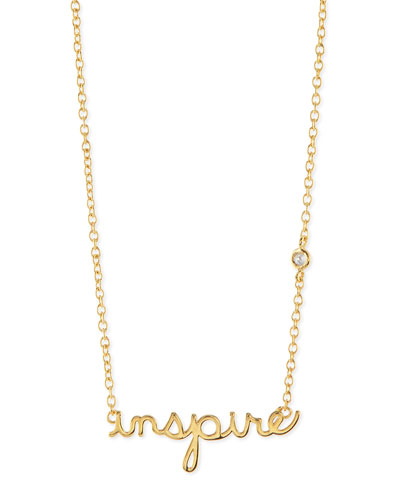 Inspire Bezel Diamond Necklace