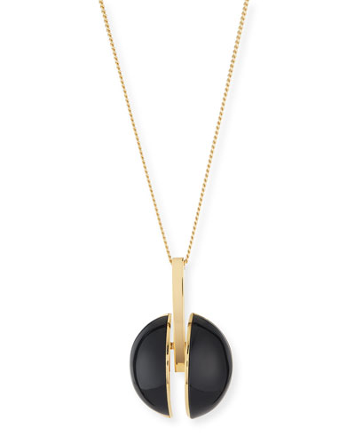 Ellie Long Pendant Necklace, 33.5""