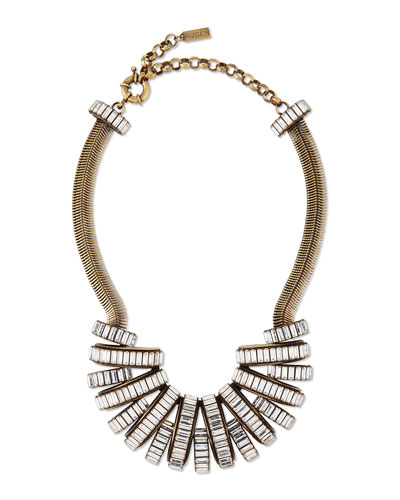 Stella Crystal Statement Necklace