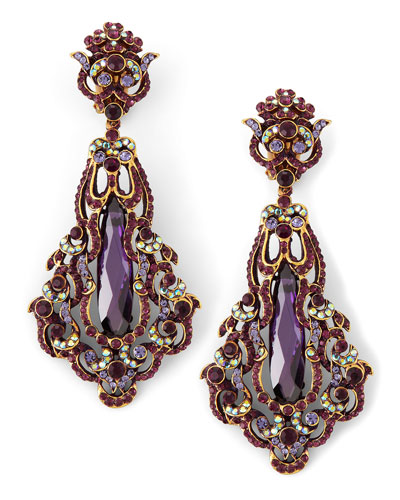 Amy Cubic Pendant Earring