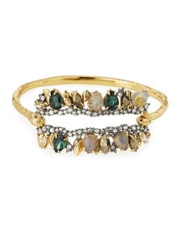 Elements Fancy I.D. Hinge Bangle Bracelet