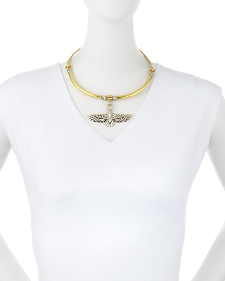 Aguila Collar Necklace with Pendant
