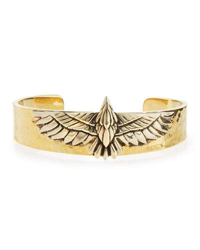Aguila Brass Eagle Cuff Bracelet