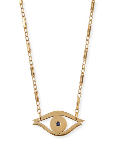 Alice Evil Eye Pendant Necklace