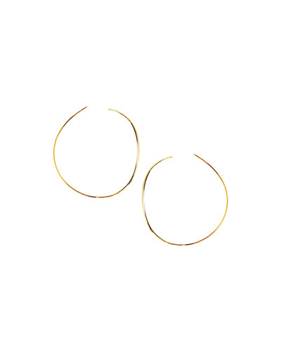 14k Elite Small Lana Wave Hoop Earrings