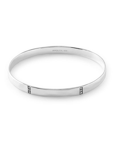 Glamazon Stardust 3-Section Medium Bangle with Diamonds