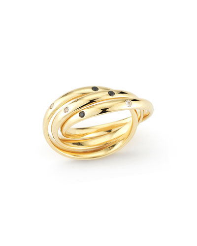 Ollie Mila Triple Intertwined Ring