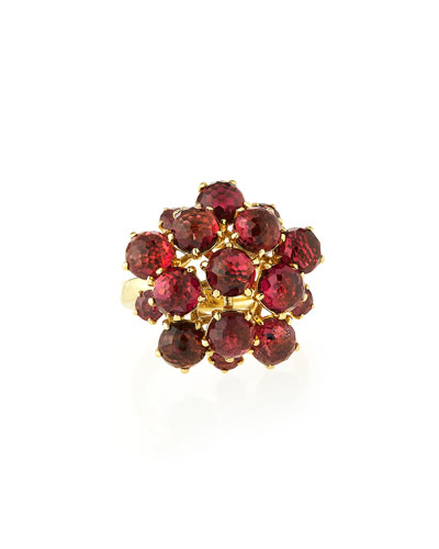 18K Gold Lollipop® Cluster Ring, Pink