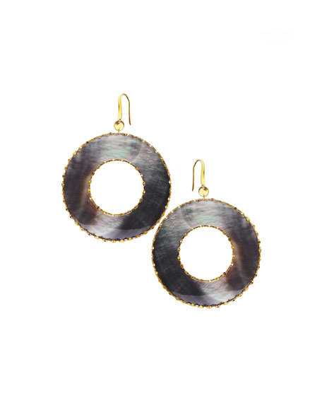 Elite Mystiq Open Ring Earrings