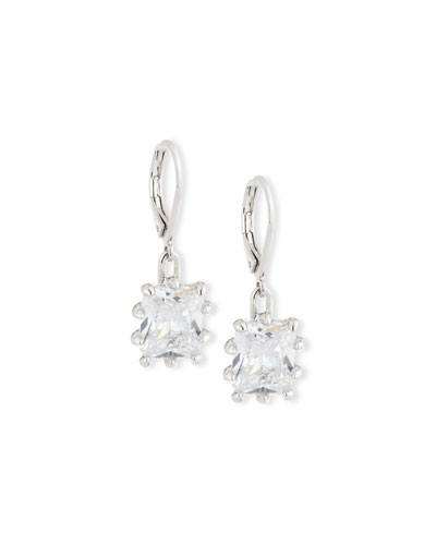 Crystal Estate Drop Earrings