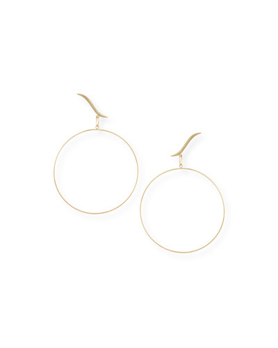 Hoop Stud Duo Earrings