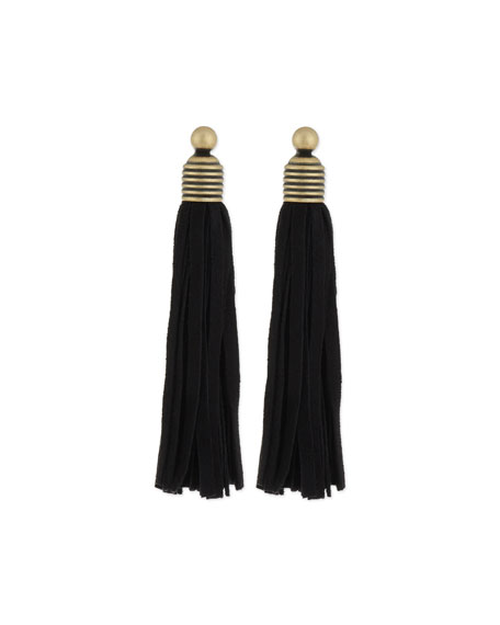 Topanga Suede Fringe Earrings