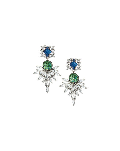 Brianna Crystal Statement Earrings