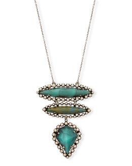 Ivy Three-Pendant Necklace