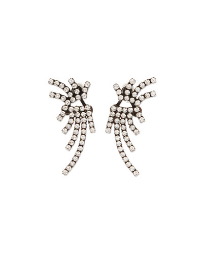 Willis Crystal Jacket Earrings