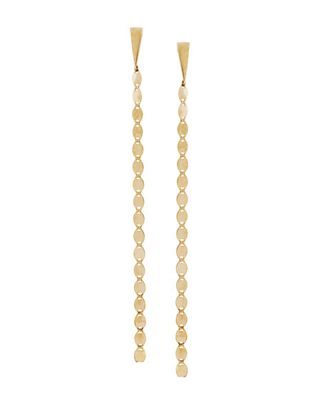 14K Nude Chain Duster Earrings