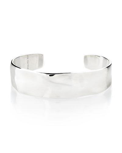 Sterling Silver Senso™ Sterling Silver Medium Organic Surface Cuff