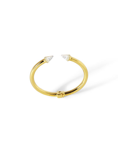 Mini Titan Mother-of-Pearl Cuff Bracelet