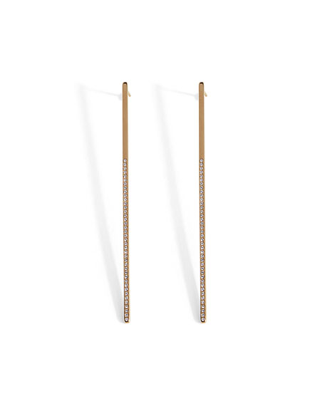 Mini Crystal Bar Earrings