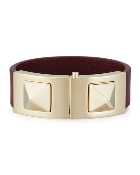 Rockstud Vitello Cuff Bracelet