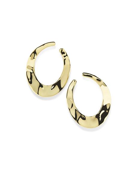 18K Senso™ Open Hoop Earrings