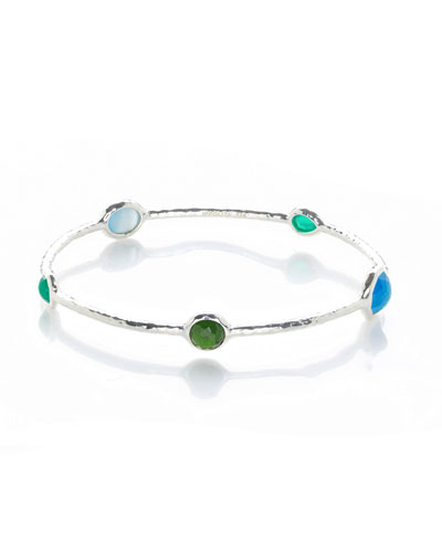 925 Rock Candy Wonderland Bangle in Taffeta