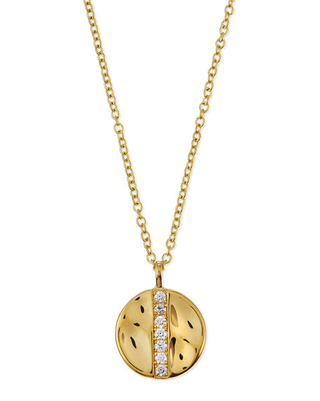 Ippolita 18K Gold Senso™ Medium 15.5mm Disc Pendant