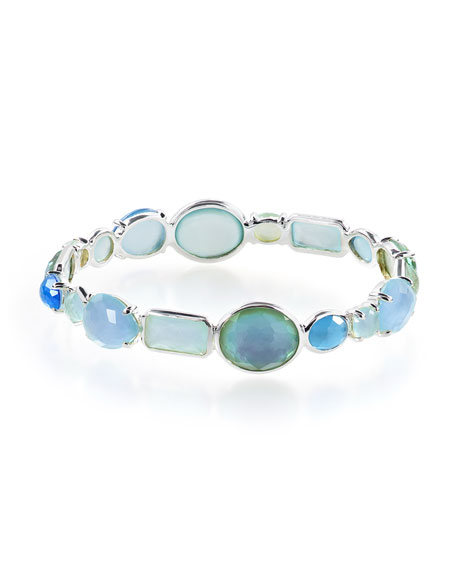 Ippolita Rock Candy Mixed-Stone Bangle in Blue Star