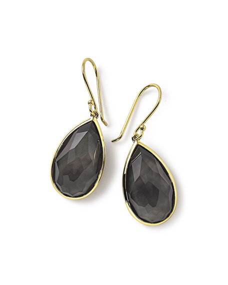 Ippolita 18k Rock Candy Single Teardrop Earrings in
