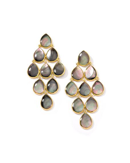 Ippolita 18k Polished Rock Candy Cascade Earrings