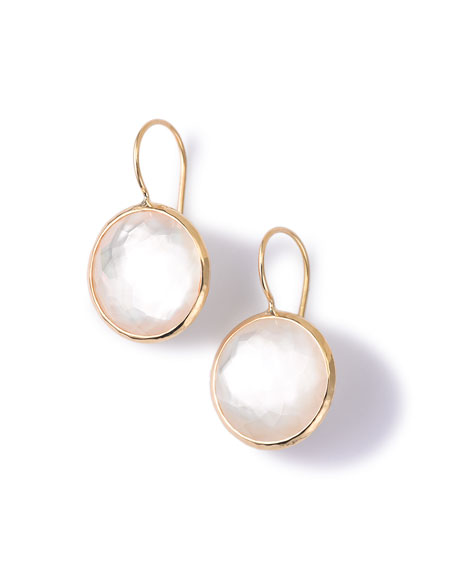 Ippolita 18k Gold Lollipop Drop Earrings in Mother-of-Pearl