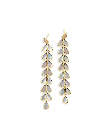 Ippolita 18K Rock Candy Long Mother-of-Pearl Teardrop Earrings