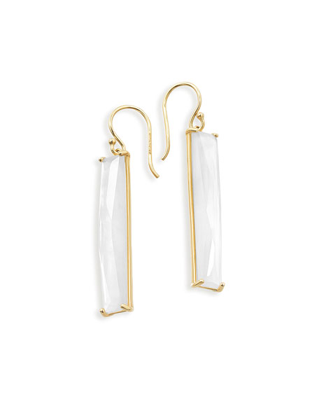 Ippolita 18K Polished Rock Candy Mother-of-Pearl Drop Earrings,