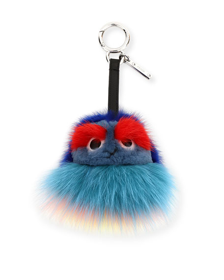 Fendi Kid Bag Charm, Blue/Multi